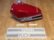 Puch 1975 Tank Decalsandnbspset Of 2 For Left/right Sides Plus Andldquo125andrdquo Or Andldquo175andrdquoandnbsp