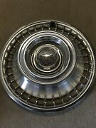 1 14 1968 Nos Cheverolet Chevy Truck Hubcap Wheel Cover 3923556