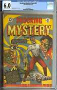 Shocking Mystery Cases 51 Cgc 6.0 Cr/ow Pages // Golden Age L.b. Cole Cover