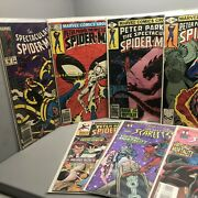 Lot Of 11 Spiderman Marvel Comic Books Collectibles Scarlet Peter Parker May 42