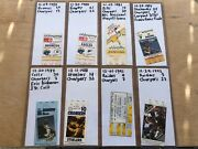 Collectors Lot Collection Of Nfl La San Diego Chargers Tickets Ticket Stubs Fsbo