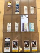 Collectors Lot / Collection Of Nfl Minnesota Vikings Tickets Ticket Stubs Fsbo
