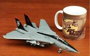 Witty F-14d Tomcat Vf-101 Ghm Reapers Ad 164 1/72 Diecast Plane Model Aircraft