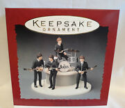 Hallmark Beatles 1994 Keepsake Ornament Set Signed In Person By Rogers Complete