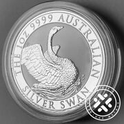 2020 Australia Silver Swan 1 Oz Coin Direct From Perth Mint Roll
