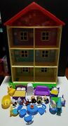 Peppa Pig Lights And Sounds Family Home Playset Preowned