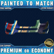 New Painted To Match Front Bumper Replacement For 2010-2012 Hyundai Santa Fe Suv