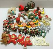 Vintage Christmas Xand039mas Tree Ornaments Toy Soldier Bundle Lot X01 F/s A2244
