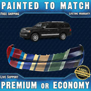 New Painted To Match - Front Bumper Replacement For 2007-2014 Lincoln Navigator