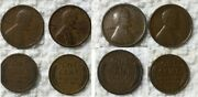 Lincoln Wheat Cent Lot, 108 Pennies 1909 - 1958, Perfect Starter Set