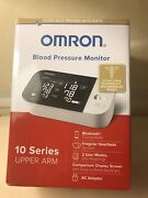 New Omron Blood Pressure Monitor 10 Series Upper Arm Bluetooth 2 Users Bp7450