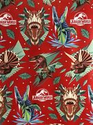 Jurassic World Dinosaurs Gift Wrap Wrapping Paper Roll Any Occasion Holiday 40sf