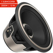 Nfinity Kappa 1200w 12 Car Audio Subwoofer W/ Selectable 2 Or 4-ohm Impedance