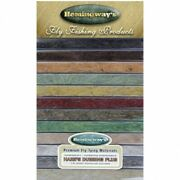 Hemingway Fly Tying Dubbing Hares Ear Plus, 12 Colours In A Great Dispenser Box,