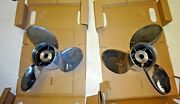 Powertech Stainless Ofs3r21pcl200 And Ofs3l21pcl For Yamaha 21 Pitch 1 Pair Randl