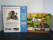 Mb Puzzles Lot Of 2 Brand New 1000 Pieces Each Classic Movie And Charles Wysocki