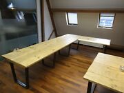 Industrialreclaimed Board Room Tablelarge Tablesmetal Table Conference Table