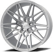 20 Silver Cf1 Alloy Wheels Fits Bmw 5 6 7 8 Series Models Staggered Wheels