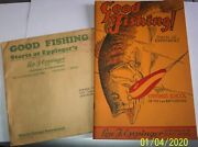 Rare Lou Eppinger Co.1939-40 Complete Good Fishing Catalog Colored/lures Ex+
