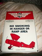 Ande Rooney Sign Skelly Gasoline And Skelly Airplane Oil Porcelain 9 1/2 In 13 1