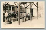 Men Dropping Cans In Lye Bath Rppc Loading Dockantique Occupation Photo 1930s