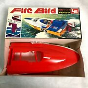 Ls Fire Bird Toy Plastic Model Kit Boat Without Outboard Motor / Made In Japan