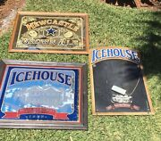 Icehouse And Newcastle Beer Mirrors/signs