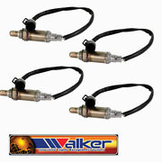Set Of 4 New Walker Oxygen O2 Sensor 1997-2008 Ford F150 Pickup 4.2l 4.6l 5.4l