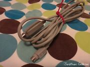 Apple Imagewriter Ii Serial Cable For Apple Iic 590-0554-a Vintage Rare Part