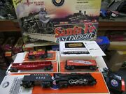 Lionel 6-31985 Santa Fe Fast Freight Set Pre Owned ,tested Boxes, O Ga 3 Rail