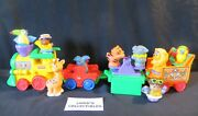 Fisher-price Little People Circus Train Set With Animals And Music Playset Toys