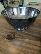 Silver Bowl Paul Revere Reproduction By Oneida Silversmith 10