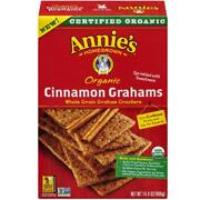 Annieand039s Homegrown-cinnamon Graham Crackers Pack Of 12 14.4 Oz Boxes