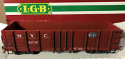 Lgb Queen Mary Series New York Central Weathered Gondola 42730 G Gauge