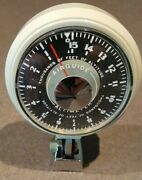Nos Vintage Airguide Snowmobile Altimeter Model 619 0-15000 Ft  Made In Usa Nib