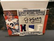 National Treasures Hof 2002 All Pros Prime Jersey Autograph Jim Kelly 20/25 2008