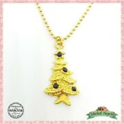 Necklace Lovely Jewelry Michal Negrin Crystals Christmas Tree Israel