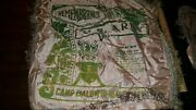 Vintage Banner Pillow Sham United States Army Camp Baldwin Niantic Connecticut