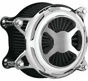 Vance And Hinesandreg Vo2 X Chrome Motorcycle Air Intake Billet Cnc Cover 72047