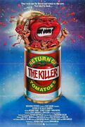 233351 Return Of The Killer Tomatoes Movie 1988 Wall Print Poster Us