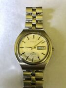 Vintage 1969 Products Seiko Automatic Watch [lm Lord Matic] 25 Jewels 5606-7120