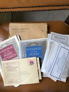 Antique The Perry Pictures Co. Catalogue 1920s All Order Forms / Samples Intact