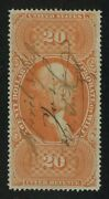 Us Revenue R99c 20.00 Probate Of Will Used Xf/s Extremely Fine/superb Rare