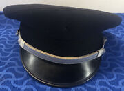 Morry Luxenberg Airlines Uniform 1st Officers Cap/hat 7 1/2 Poly Wool 55/45