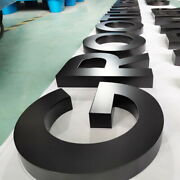 18in Tall Channel Letter Sign With Frontlit,waterprrof Led Inside.ship By Fedex