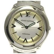 Louis Vuitton Fifty Five Q6g22 Self-winding Menand039s From Japan [a0513]