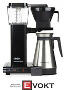 Moccamaster Kbgt 741 Coffee Filter Machine Black With Thermos New Original