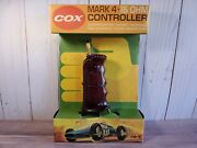 Cox Mark 4-15 Ohm Vintage Slot Car Controller 124 Scale Racing New Mint Mk Iv