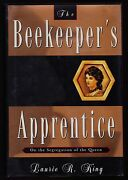 Laurie R. King. The Beekeeper's Apprentice. 1st/1st, F/f. Signed