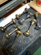 Vintage Knobs 7 Sets Of 2 With Spindles